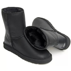 Ugg Australia MICHELLE LEATHER Black ua-leather-001