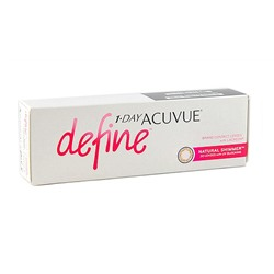 1-DAY ACUVUE® DEFINE®    (NATURAL SPARKLE 30рк NATURAL SHIMMER® 30рк)