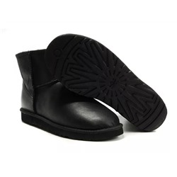 Ugg Australia W CLASSIC MINI LEATHER Black Арт: ua-mini leather-001